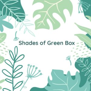 shades of green box
